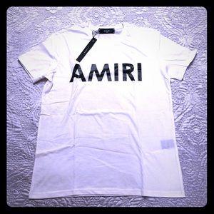 AMIRI white t-shirt Large 💯